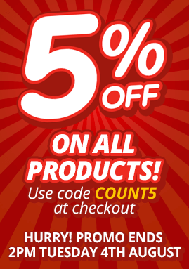 5% Off on Barbecues, Garden Furniture, and Trampolines