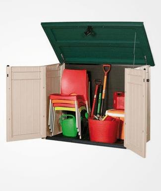 Garden Storage Units Wooden Garden Storage Metal Garden