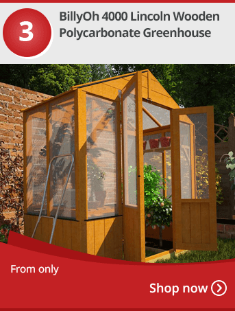 Nison 4 Tier Mini Greenhouse with PVC Cover