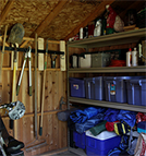 Increase Garden Shed Storage Space