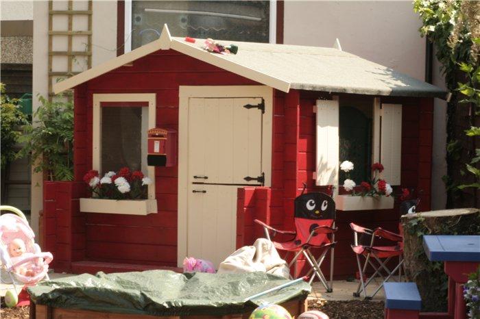 Mad Dash Junior Log Cabin Wooden Playhouses Log Cabin