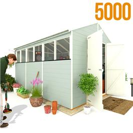 BillyOh 5000 Greenkeeper Premium Tongue and Groove Double Door Apex Garden Shed