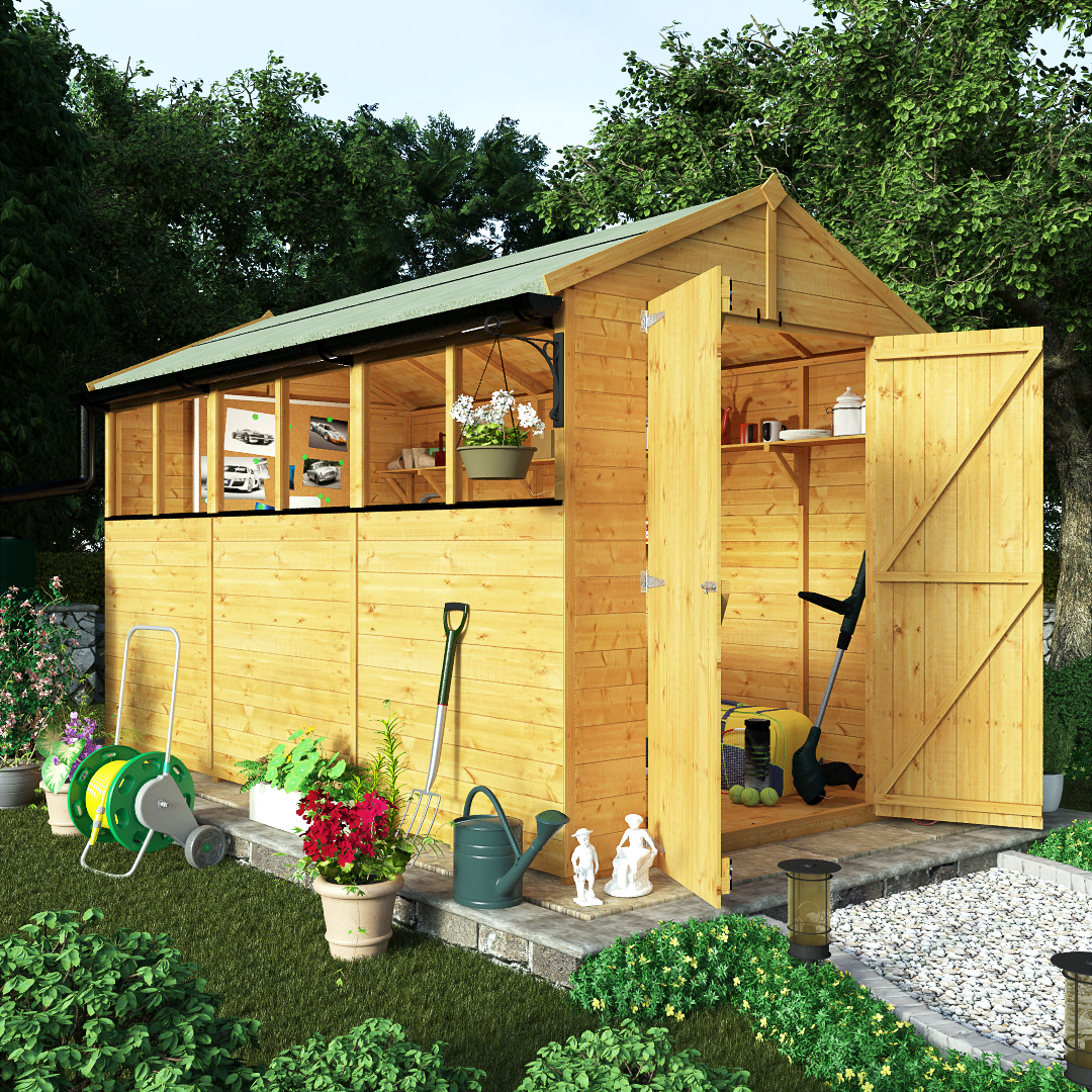 Garden sheds cork garden sheds garden sheds for sale html for Garden shed january sale