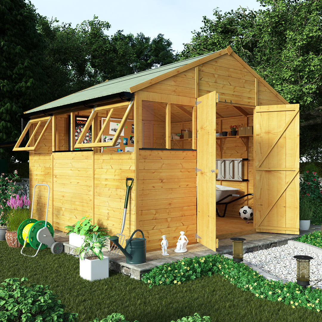 Wooden sheds for sale cheap timber garden shed for Affordable garden sheds