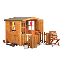 Mad Dash Bunny Wooden Playhouse