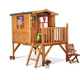 Mad Dash Bunny Tower Wooden Playhouse