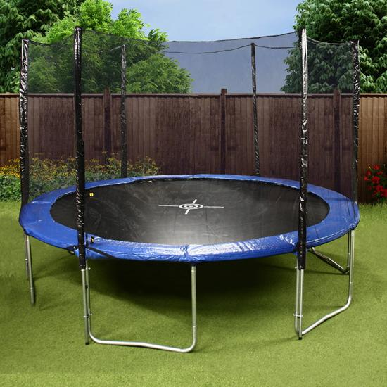 Mad Dash 12ft Trampoline and Enclosure