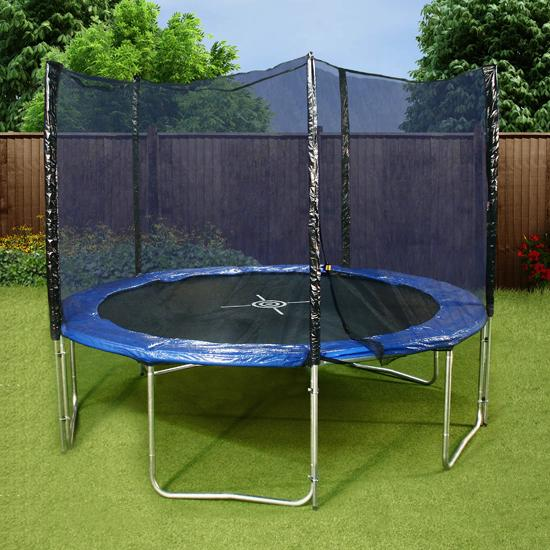 Mad Dash 10ft Trampoline and Enclosure