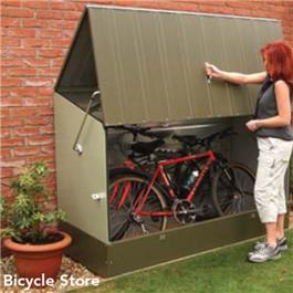 Trimetals Metal Bicycle Store Bike Shed