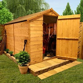 BillyOh 300 Windowless Classic Value Tongue and Groove Apex Shed - B Grade - 4'x6'