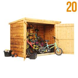 3 x 6 20 Pent Waney Bike Store