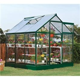 6 x 4 5000S Green Hobby Greenhouse Metal Greenhouse