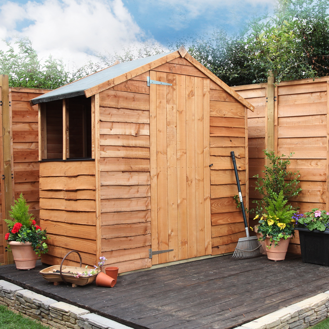 Very cheap garden sheds for sale garden building for less for Very small garden sheds