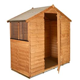 3' x 6' BillyOh Value Overlap Apex Shed 30S