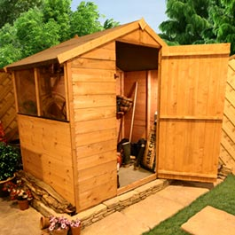 BillyOh 300S 3x6 Value T and G Apex Garden Shed