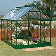 BillyOh Greenhouses - 6' x 8' 5000 Hobby Greenhouse - Green