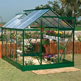 6 x 8 Polycarbonate Greenhouse Metal Greenhouse