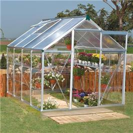 6 x 8 3000M Hobby Silver Greenhouse Metal Greenhouse
