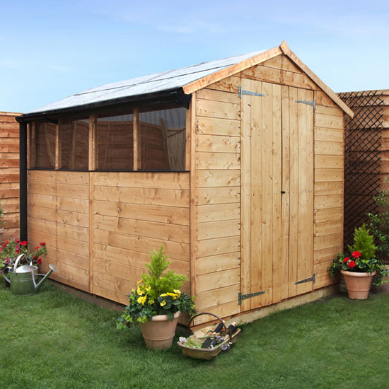 8 x 6 Garden Shed  - BillyOh 4000 Lincoln Tongue and Groove Garden Shed