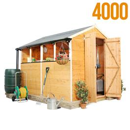 BillyOh 4000M Lincoln Tongue & Groove Double Door Apex Garden Shed
