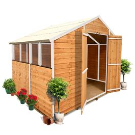 9' x 8' 400M BillyOh Lincoln Overlap Apex Shed