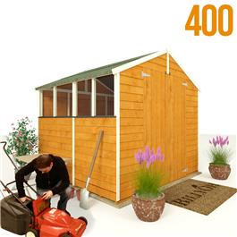BillyOh 400M Lincoln Overlap Double Door Apex Garden Shed