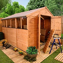 BillyOh 4000 Tongue and Groove Apex Sheds 8'x10'