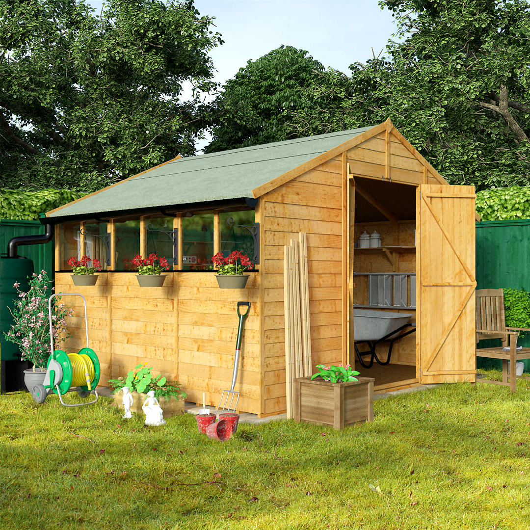 Wooden sheds for sale buy timber garden shed for Wooden garden sheds for sale