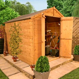 BillyOh 4000M Windowless TG Apex 6' x 8' Shed