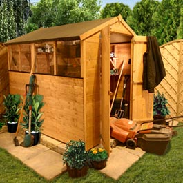 3 x 6 Tongue and Groove Apex Shed