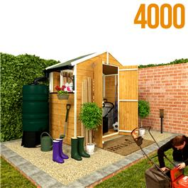 BillyOh 4000S Lincoln Tongue & Groove Double Door Apex Garden Shed