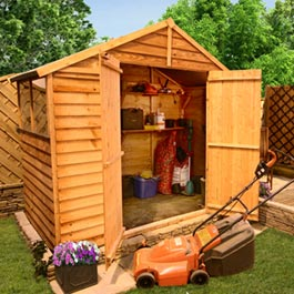 5 x 7 Overlap Apex Shed