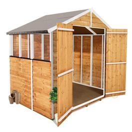 BillyOh Lincoln 400S Overlap Shed 7'x5'