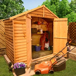 BillyOh 40S Windowless Overlap Apex 3x8 Shed