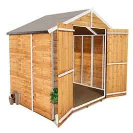 3 x 7 Windowless Overlap Apex Shed