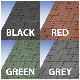 Grey Roofing Shingle Pack 12 m