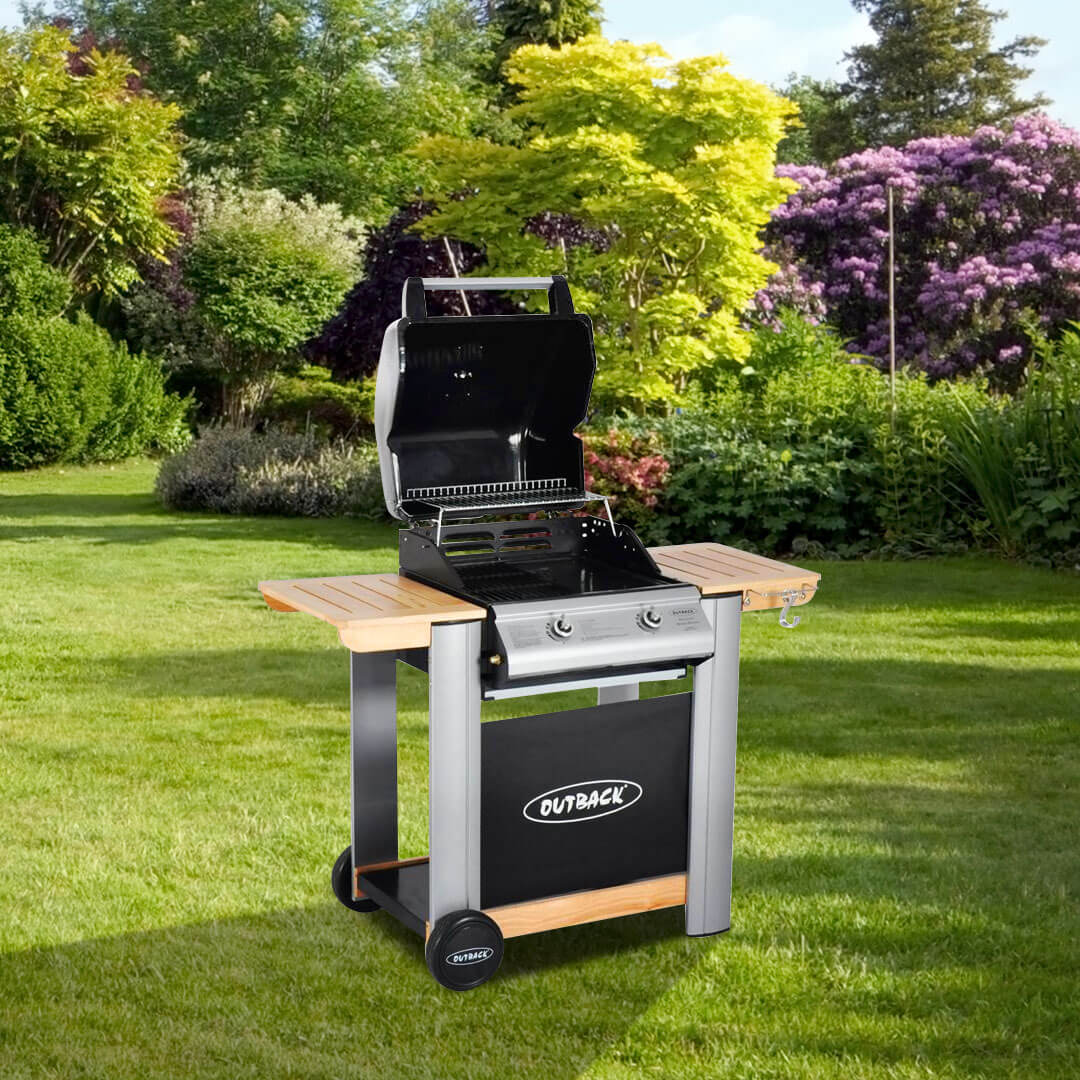 Outback Spectrum 2 Burner  Hooded BBQ Barbecue
