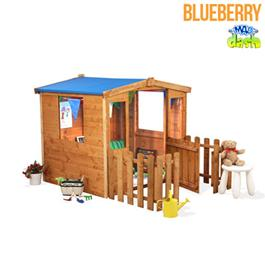 Childrens Playhouse Mad Dash Blueberry wooden Playhouse