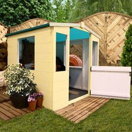 Blueberry Fabric Roof Playhouse