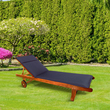 CC Garden Lounger Cushion Navy Blue