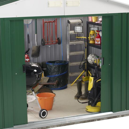 Billyoh Carrington 10 X 8 Metal Shed Best Sellers