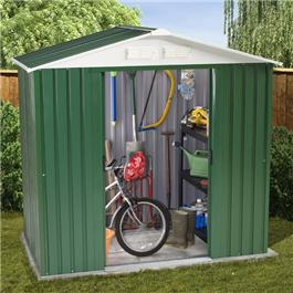 BillyOh Ashington Refurbished 6' x 4'  Metal Shed Including Assembly *Only 3 left in stock*