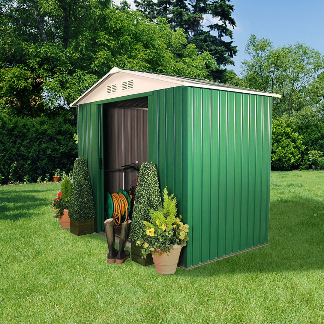 Metal sheds for sale buy garden buildings direct uk for Aluminum sheds for sale