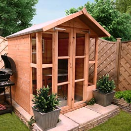 BillyOh 4000S Lucia 5'x5' Summerhouse