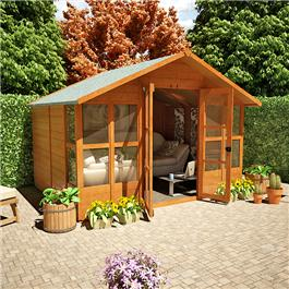 BillyOh Summer Houses 4000L Lucia Summerhouse 8'x10'
