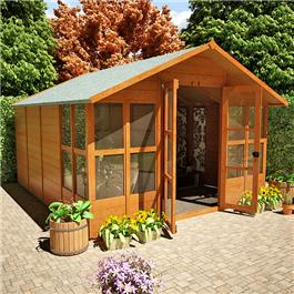 BillyOh 4000XL Lucia Tongue and Groove Summerhouse 10'x10'