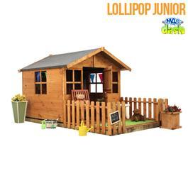 Mad Dash Wooden Playhouses - Lollipop Junior Wooden 5x5 Playhouse