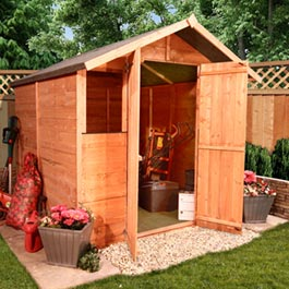 BillyOh 4000S Kent Tongue and Groove Garden Shed - 3'x6'