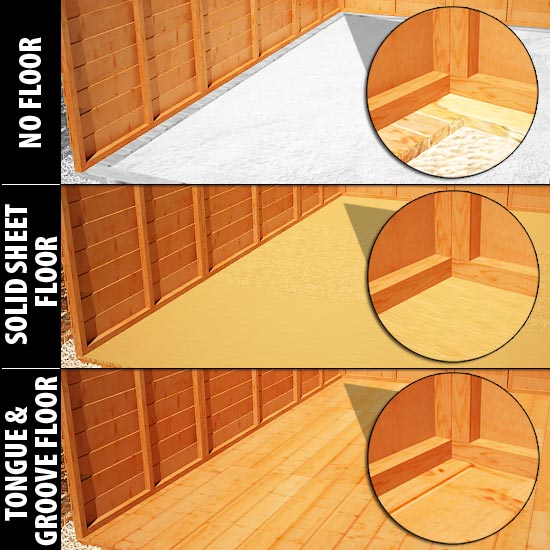 bels: Build a shed floor solutions