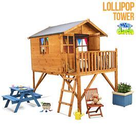 Mad Dash Wooden Playhouse Lollipop Junior Tower